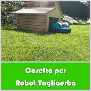casetta robot taglierba