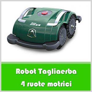 robot tagliaerba 4 ruote motrici