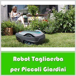 robot tagliaerba per piccoli giardini